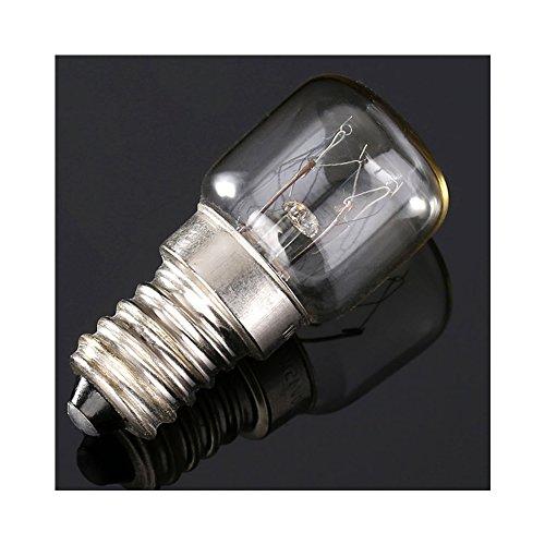 E14 T22 (15W) ad alta temperatura di 300 gradi forno lampadina della lampadina del pane macchina speciale forno lampada titolare lampadina