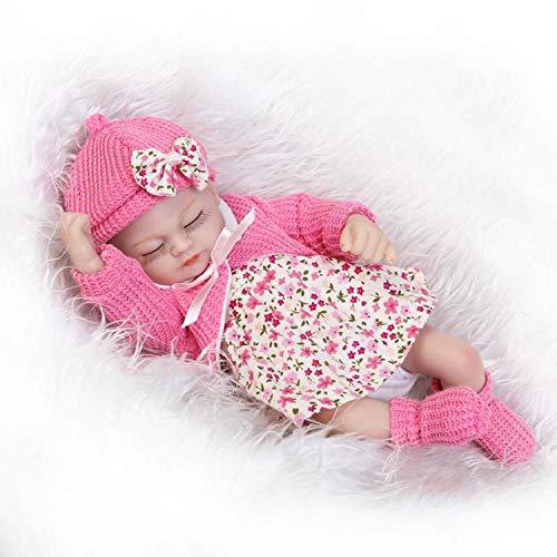 Terabithia 10inch Mini Cute Realista Beautiful Dreamer Silicone Vinyl Full Body Reborn Baby Dolls Lavable para niña
