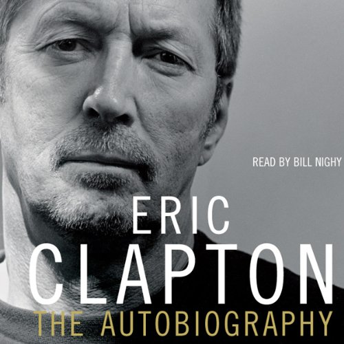 Eric Clapton audiobook cover art