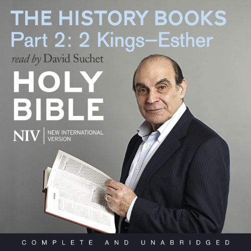 NIV Bible 3: The History Books - Part 2 audiobook cover art