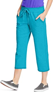 Hanes Women's French Terry Capri Pant