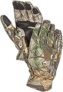 North Mountain Gear Mens Camouflage Hunting Gloves Light to Mid-Weight Smart Phone Compatible Gloves with Sure Grip Palms Archery Hunting Accessories Hunting Outdoors Water Resistant