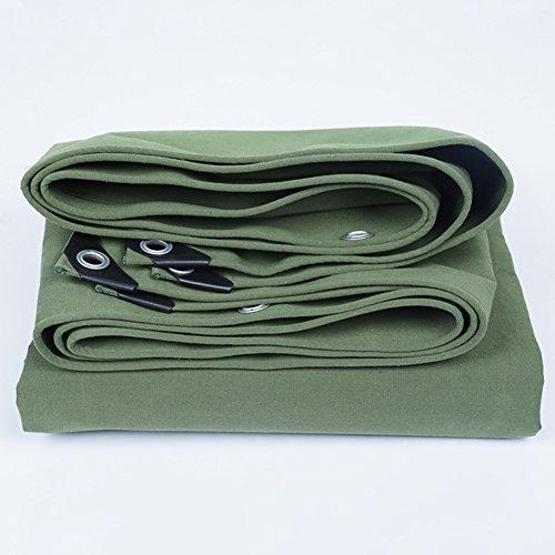 HAIPENG Imperméable Bâche avec des Oeillets Store Tente, Vert, Multi Tailles, 400g/M² (Couleur : Green, Taille : 2x2m)