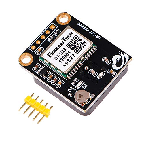 Seamuing GPS Module Receiver Drone GPS Compatible with 51 Microcontroller STM32 Arduino UNO R3 with Dual-frequency GNSS Positioning High Sensitivity for Navigation Satellite Positioning