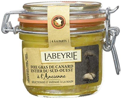 LABEYRIE Foie Gras de Canard Entier à LAncienne du Sud-Ouest Bocal 195 g