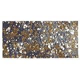 Abyss & Habidecor.- Alfombra de baño Boho 70x140 cm Color 800 Gold
