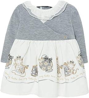 Mayoral - Vestido con bordado para niña