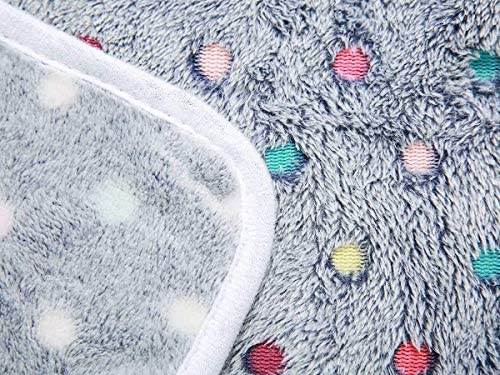 Luciphia Lot de 3 couvertures super douces en polaire pour animal domestique