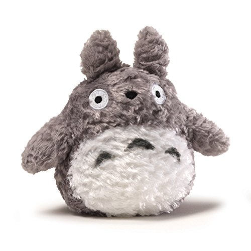 GUND Fluffy Totoro Stuffed Animal Plush in Gray, 6'