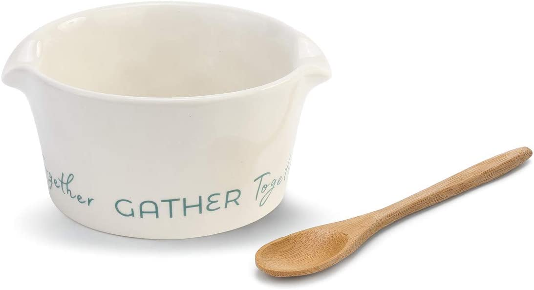 Gather We OFFer at cheap prices Together Black and White 5 Wit Ceramic Bowl Max 51% OFF 3 x Stoneware