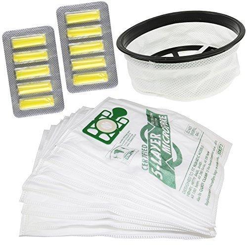 Stofzuiger Hoover 12 Inch Filter 10 Tassen Luchtverfrissers Kit Echt Compatibel Reserveonderdeel Voor Numatic Henry Rubber Surround Seal Merk Nieuw