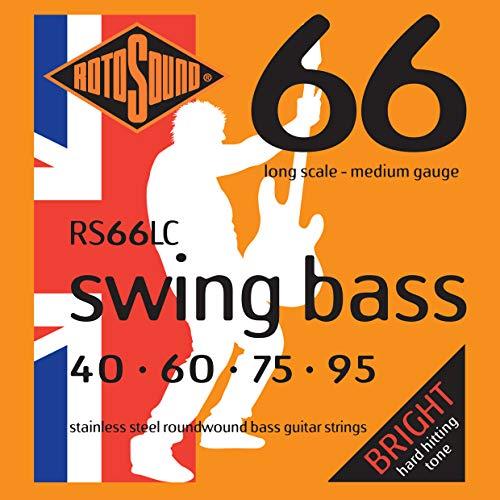 Rotosound RS66LC - Juego de cuerdas para bajo...