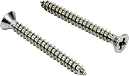 Ochoos 100Pcs//Lot Coiled Wire Helical Screw Thread Inserts M8 x 1.25 x 2D Length Thread Repair Helical Insert Stainless Steel 304
