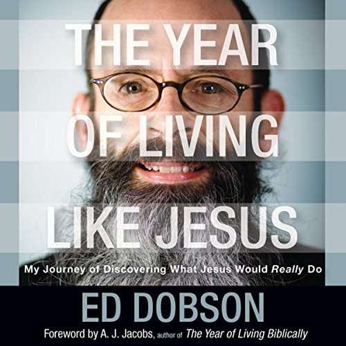 The Year of Living like Jesus cover art