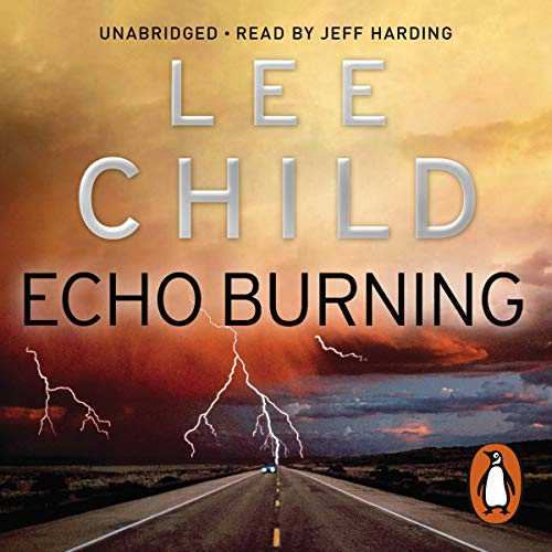 Echo Burning audiobook cover art