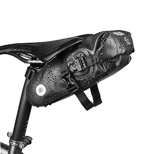 ROMAN Satteltasche Wasserdicht Fahrradtasche für Rennrad Mountainbike 2.5L