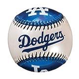 Franklin Sports Los Angeles Dodgers MLB Team Baseball - MLB Team Logo Soft Baseballs - Toy Baseball for Kids - Great Decoration for Desks and Office