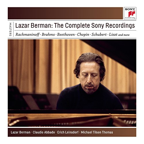 Price comparison product image Lazar Berman - The Complete Sony Rec Ordings