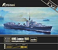 フライホークモデル 1/700 イギリス海軍 HMS L級驅逐艦 ランス 1941 限定版 プラモデル