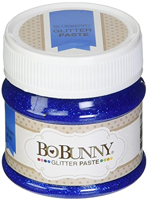 Bo Bunny BBGP-837 Double Dot Glitter Paste, Blueberry