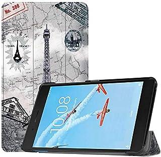 SIZOO - Tablets & e-Books Case - Slim Protective Case For for Lenovo Tab E7 2018 7 inch Tablet Funda Tri-Fold Flip Stand C...