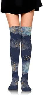Starry Night Women's Over Knee Thigh Socks Girl High Boot Stockings Leg Warmer