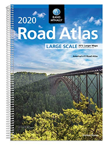 Compare Textbook Prices for Rand McNally 2020 Large Scale Road Atlas  ISBN 0070609021041 by Rand McNally