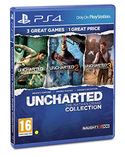 test PS4 Uncharted Nathan Drake Collection NEUER EU-Import Deutschland