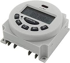 Busirde L701 CN101A num/érique Time Switch hebdomadaire programmable /électronique 7 Jours minuterie contr/ôleur lumi/ères Application White AC 220V