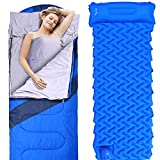 Sportneer Sleeping Bag Portable Large Sleeping Bags with Detachable Zipper Liner for Camping, Hiking, Backpacking