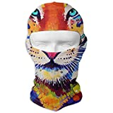 Aeykis Tigre de masque de masque de visage coloré coloré conduisant le cou de masque de protection pour les...