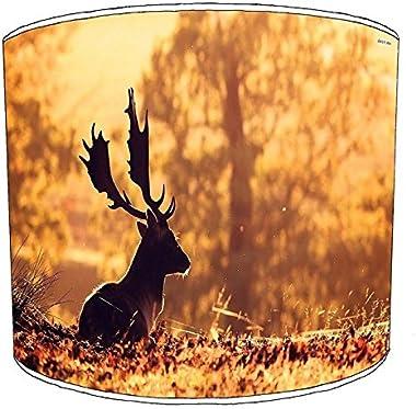 Premier Lighting 25cm cerf Deer abat-jour12 pour Un plafonnier