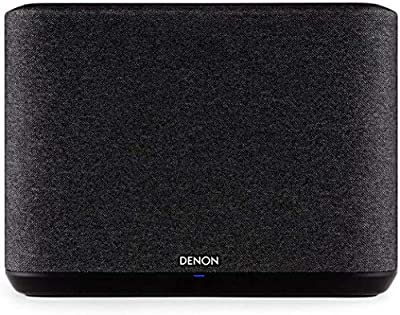 Denon Home 250 Wireless Speaker, Stereo speaker with Bluetooth, WiFi, AirPlay 2, Google Assistant / Siri / Alexa Compatible, Music Streaming, HEOS Built-in for Multiroom - Black from Denon