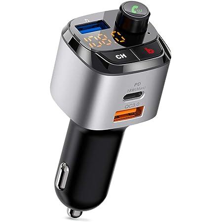 Aigoss Fm Transmitter Bluetooth Freisprecheinrichtung Elektronik
