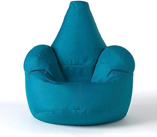 ICON rößer Armsessel Sitzsack- Größer Luxussitzsack BlauGrün