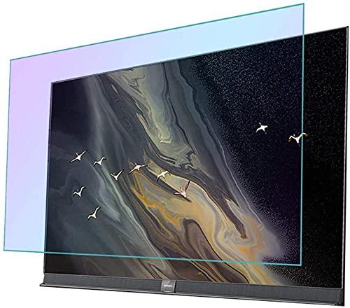 CCHAYE 32-75 Pulgadas LED Smart TV Anti-Glare Anti Blue Light Protect Eyes Protector de Pantalla Película TV Accesorios Varios tamaños-49 Pulgadas 1075 * 604mm_Versión Mate Improve