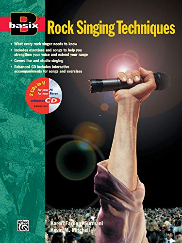 Basix Rock Singing Techniques: Book & Enhanced CD (Basix(R) Series)