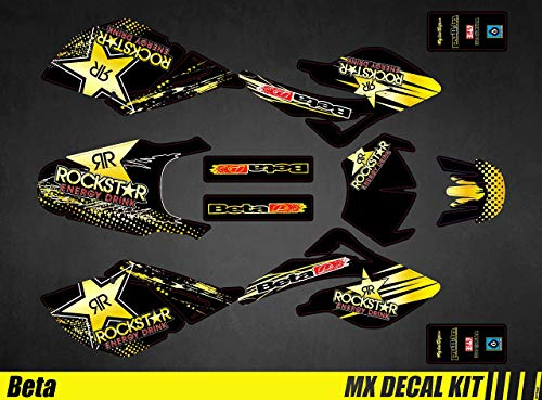 Kit Déco Moto para/MX Calcomanías Kit para Beta RR 50 - Rockstar