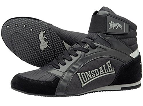 Lonsdale Herren Boxschuhe Swift, Farbe:black, Größe:5