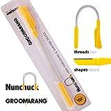 Groomarang Nunchuck épilation du visage épilation pour les hommes - Epistick + lame...