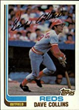 1982 Topps Baseball Card #595 Dave Collins