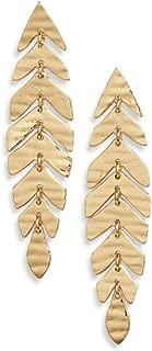 kate spade new york A New Leaf Linear Drop Earrings