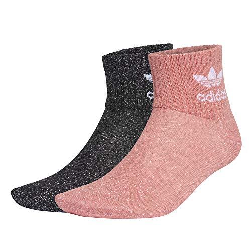 Adidas Originals 2 Paar Socken kurz Damen Glitter