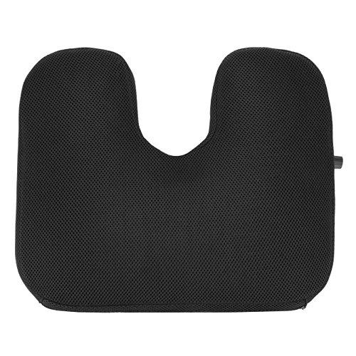 Travelon Self Inflating Seat Cushion, Black, One Size