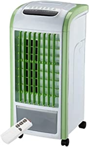 Portable Multi Functional Fan & Air Cinditioner, Elevin(TM) 4 in 1 Air Cooler Green with Remote Control Fan Humidifier and Air Freshener