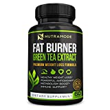 Premium Green Tea Extract Fat Burner Supplement with EGCG-Natural Appetite Suppressant-Healthy...