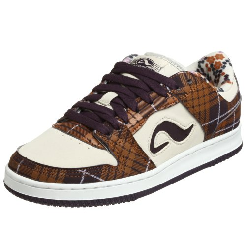Adio Women's Monroe Skate Shoe,Raisin/Bone/Lilac,6 M US