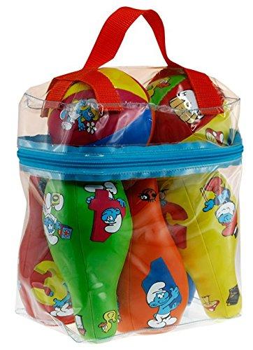 Los Pitufos - Juego de bolos (Barbo Toys 8411) (BASE TOYS)
