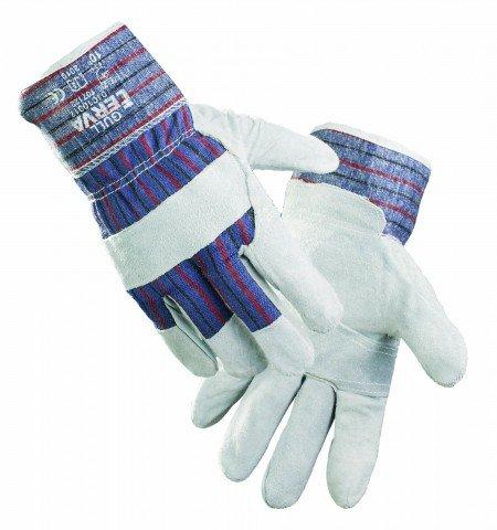 GULL Arbeitshandschuhe, Handschuhe aus Rindspaltleder, Gr.10,5