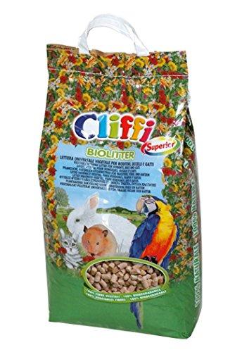 Lettiera universale vegetale per conigli nani e gatti biolitter 8 litri